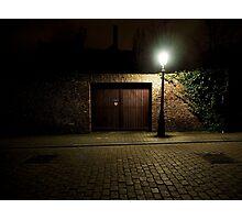 Eerie Bruges Photographic Print