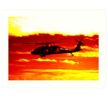 Avalon Airshow - Highrise Copter Art Print