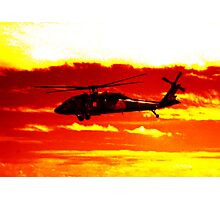 Avalon Airshow - Highrise Copter Photographic Print