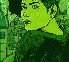 Green  by Nicolae Negura