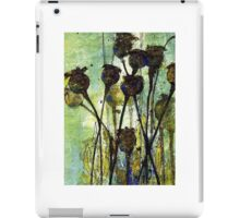 Poppy Seed Heads iPad Case/Skin