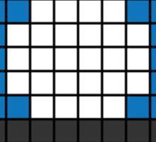 8Bit - Blue Mushroom Sticker