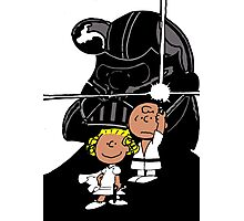 Star Wars Peanuts Photographic Print
