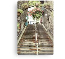 Under the Arch and Up We Go Metal Print