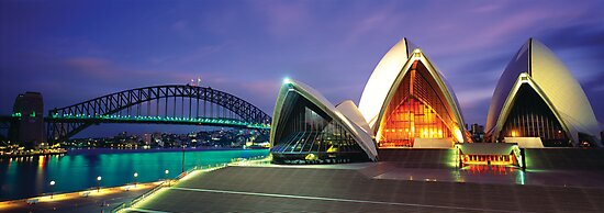 Sydney Harbour Sunrise by Dean Prowd Panoramic Photography