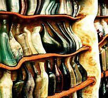 Dali Inspired Bottles by Jane McLean