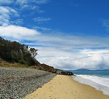 Life's Another Beach. Oyster Bay. Tasmania by Chris  Willis