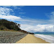 Life's Another Beach. Oyster Bay. Tasmania Photographic Print