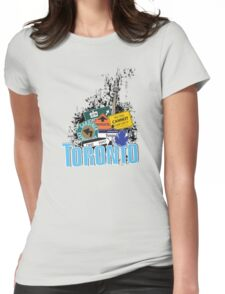Big City Signs Womens Fitted T-Shirt