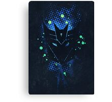 Grunge Transformers: Decepticons Canvas Print