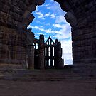 Whitby Abbey #3 by Trevor Kersley