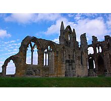 Whitby Abbey #4 Photographic Print