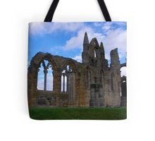 Whitby Abbey #4 Tote Bag