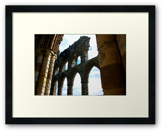 Whitby Abbey #5 by Trevor Kersley