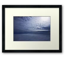 Between Two Layers Framed Print