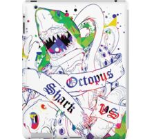 Shark vs Octopus V2 iPad Case/Skin