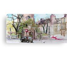 Newport, Shropshire Canvas Print