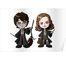 harry potter and hermione kids Poster