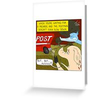 But... But...........Awwww!!! - Throw Pillow Greeting Card