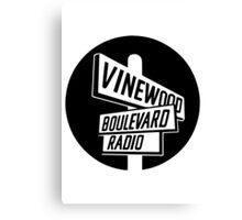 Vinewood Boulevard Radio Canvas Print