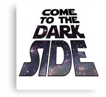Dark Side Star Wars Canvas Print