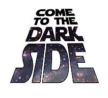 Dark Side Star Wars Photographic Print