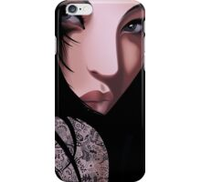 The Black Geisha iPhone Case/Skin