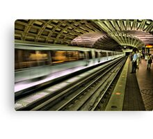 Metro Motion Canvas Print