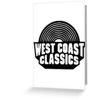 West Coast Classics Greeting Card