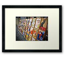 Echoes of Sacre Coeur Framed Print