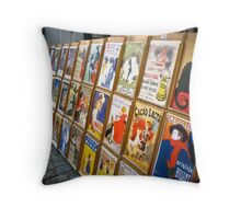 Echoes of Sacre Coeur Throw Pillow