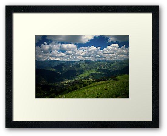 Mountain world by Iurii Zaika