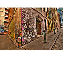 Hosiers Lane Photographic Print