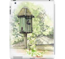 A Bird House  iPad Case/Skin
