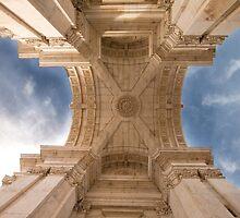 Arco da Rua Augusta.  by terezadelpilar~ art & architecture