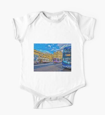 York railway station and buses One Piece - Short Sleeve