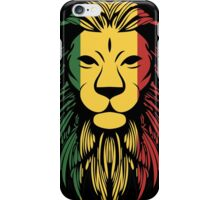 Rasta Lion Head iPhone Case/Skin