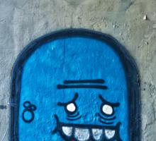 Graffiti is a crime Sticker