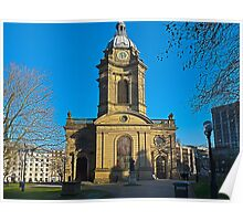 St Philips, Birmingham Cathedral, England, UK Poster
