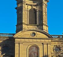 St Philips, Birmingham Cathedral, England, UK Sticker