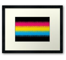 Pixel Perfect Framed Print