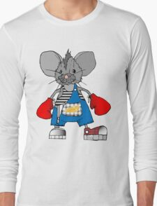 Mice Mike Mouse Boxer Long Sleeve T-Shirt