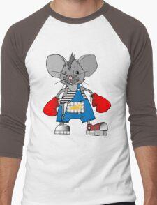 Mice Mike Mouse Boxer Men's Baseball ¾ T-Shirt