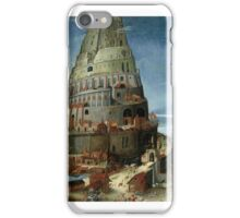 CIRCLE OF TOBIAS VERHAECHT - THE TOWER OF BABEL iPhone Case/Skin