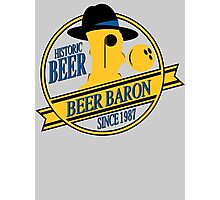 Beer Baron Photographic Print