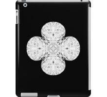 """Spirit of India: Fleur"" in white, grey and black iPad Case/Skin"