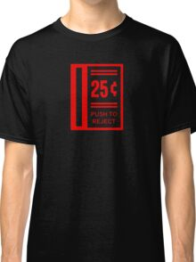 Insert Coin To Play Arcade Video Game Classic T-Shirt