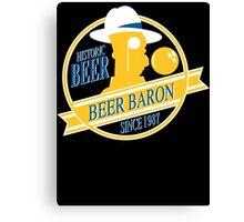 Beer Baron Canvas Print