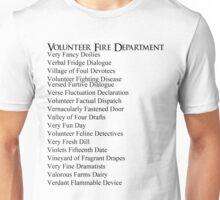 Volunteer Fire Department Unisex T-Shirt