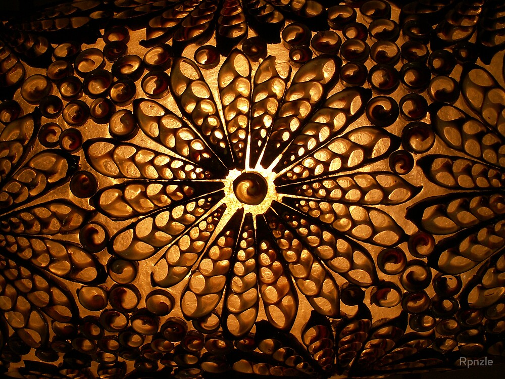Sea Shell Lamp Shade by Rpnzle